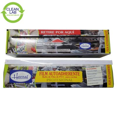 DISPENSER FILM AUTOADHERENTE PROFESIONAL 38 CM X 300 MTS HORNAL