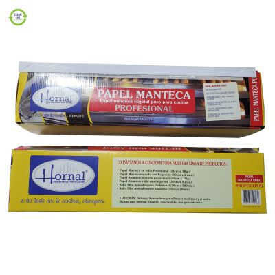DISPENSER PAPEL MANTECA PROFESIONAL 38 CM X 1 KG HORNAL